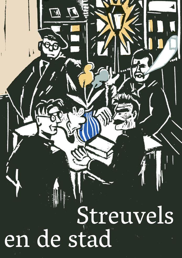 Stijn Streuvels en de stad Kortrijk in een stadswandeling.