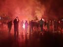 En barst het volksfeest in Deventer los.