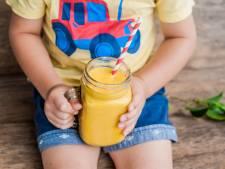 Heel veel suiker in drankjes: jonge kinderen hebben al genoeg suiker op voor het hele jaar