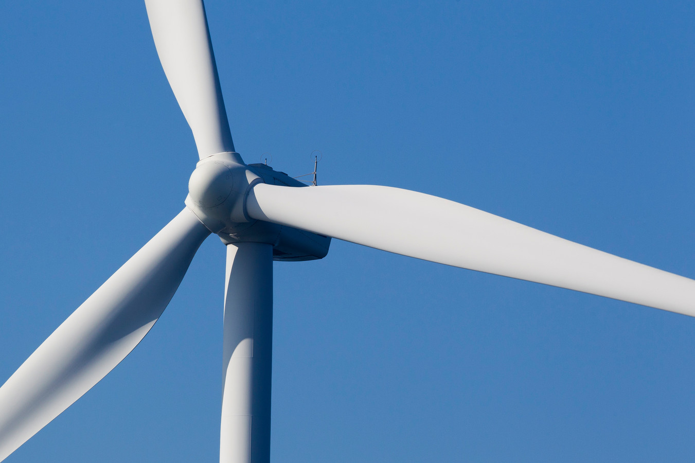 Voorbeeld van een windturbine. Foto ter illustratie.