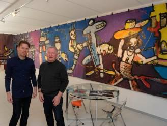 """Galerij Art Depot organiseert expo rond Herman Brood: """"Nooit eerder getoond schilderij van veertien meter lang is absolute blikvanger"""""""