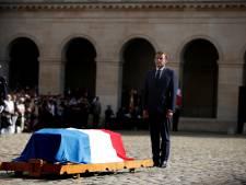 Franse president Macron eert overleden acteur Jean-Paul Belmondo