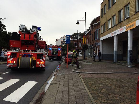 Woningbrand in Zaventem.