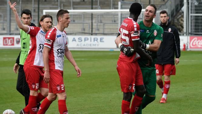 """Mouscron se défend: """"Les Flamands ont mis une pression négative sur nos épaules"""""""