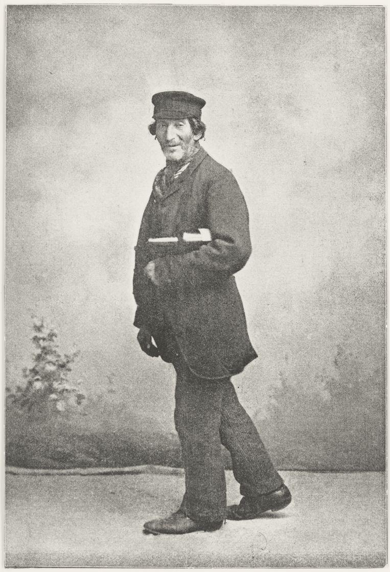 Lompenkoopman Meijer Lipschits was begin vorige eeuw een bekende figuur in Zutphen. Beeld