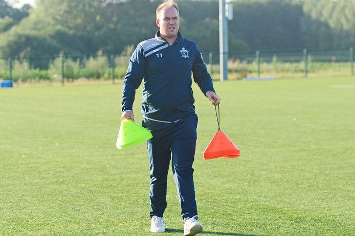 Trainer Sam Vermeulen wil de komende zes weken trainen op het kweken van automatismen richting competitiestart.