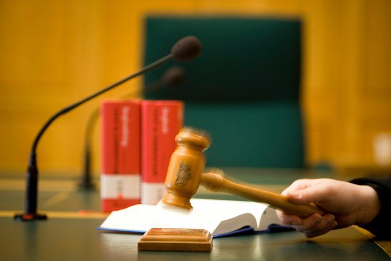 Tolken leggen het werk neer, waardoor onder meer de rechtspraak in de problemen komt Beeld ANP XTRA