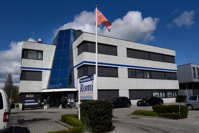 In dit kantoorpand aan de Trasmolenlaan in Woerden zit een virtueel kantoor waar bijna zevenhonderd ondernemingen gebruik van maken.