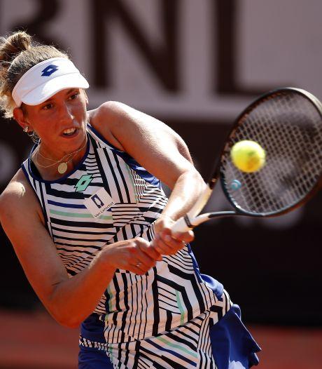 Elise Mertens se qualifie pour les huitièmes de finale du tournoi de Rome