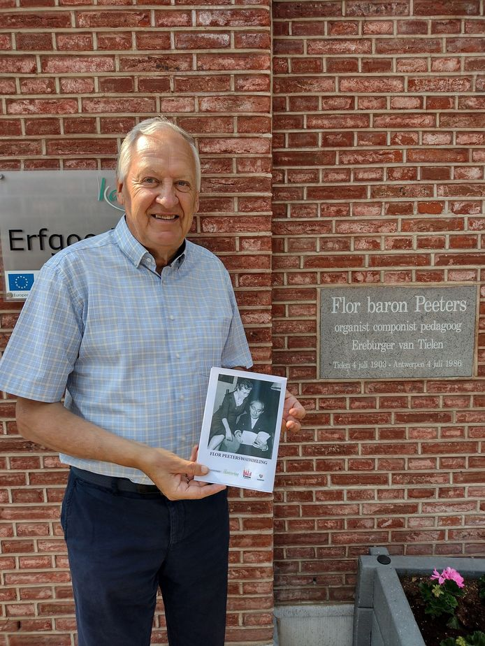 Het Davidsfonds eert Flor Peeters met een wandeling in zijn geboortedorp.