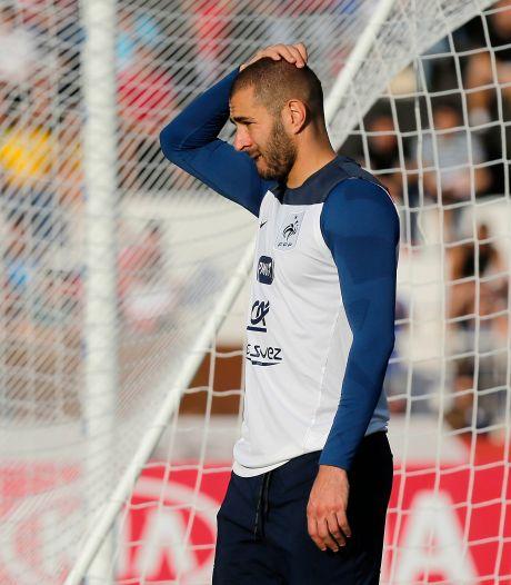 Topvoetballer Benzema voor de rechter wegens chantage met sekstape
