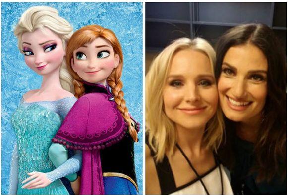 Kristen Bell en Idina Menzel zijn Anna en Elsa in 'Frozen'.
