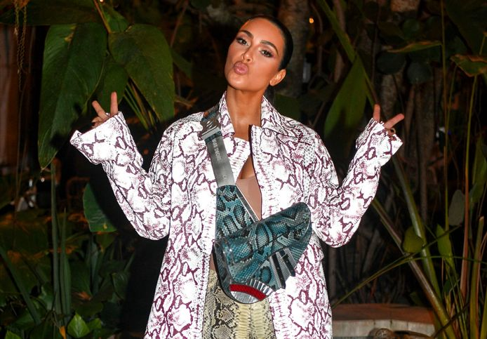 Kim Kardashian in an archive photo.