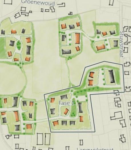 Zo'n 80 huizen in De Groene Beemd in Lithoijen