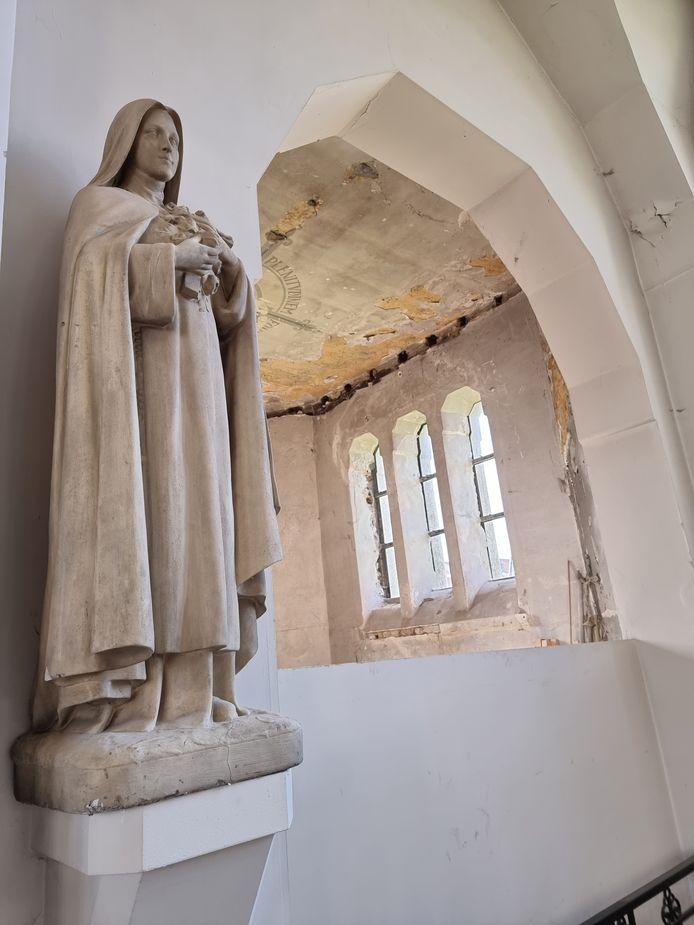Vanaf november start de restauratie van het binneninterieur van de Sint-Rochuskerk in Halle.