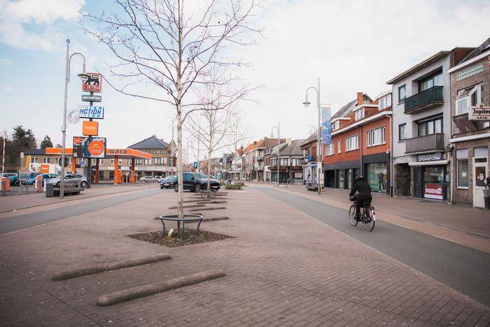 Een beeld van de Stalenstraat waar dit weekend een evenement plaatsvindt.