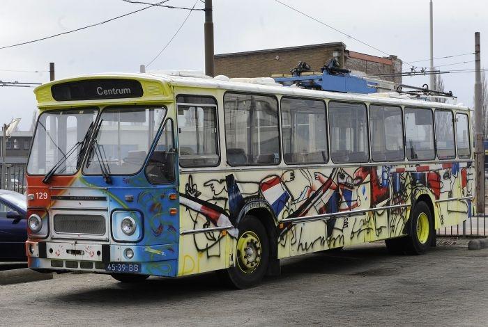 De Arnhemse Broodbus. foto Hans Broekhuizen/DG