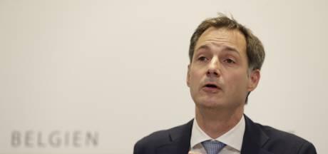 Le Premier ministre De Croo en appelle à la solidarité d'une équipe de 11 millions de Belges