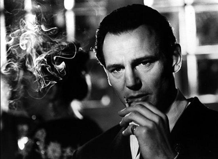 Liam Neeson in 'Schindler's List' van Steven Spielberg Beeld