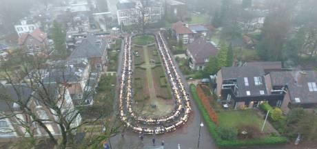 Wereldrecord sneuvelt: 1872 mensen ontbijten met cornflakes in Apeldoorn