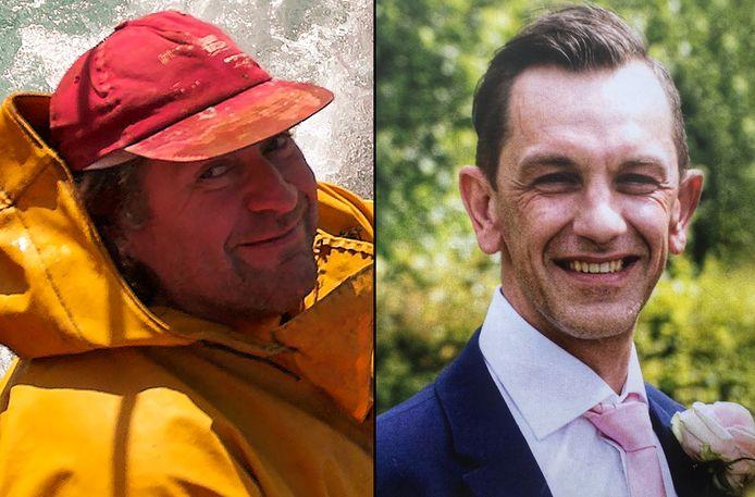 Roger Zoete en Kurt Slabinck overleefden de ramp niet.