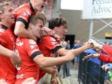 Helmond Sport-invaller Brusselers kan eindelijk weer lachen na goal in derby: 'Alle frustratie kwam eruit'