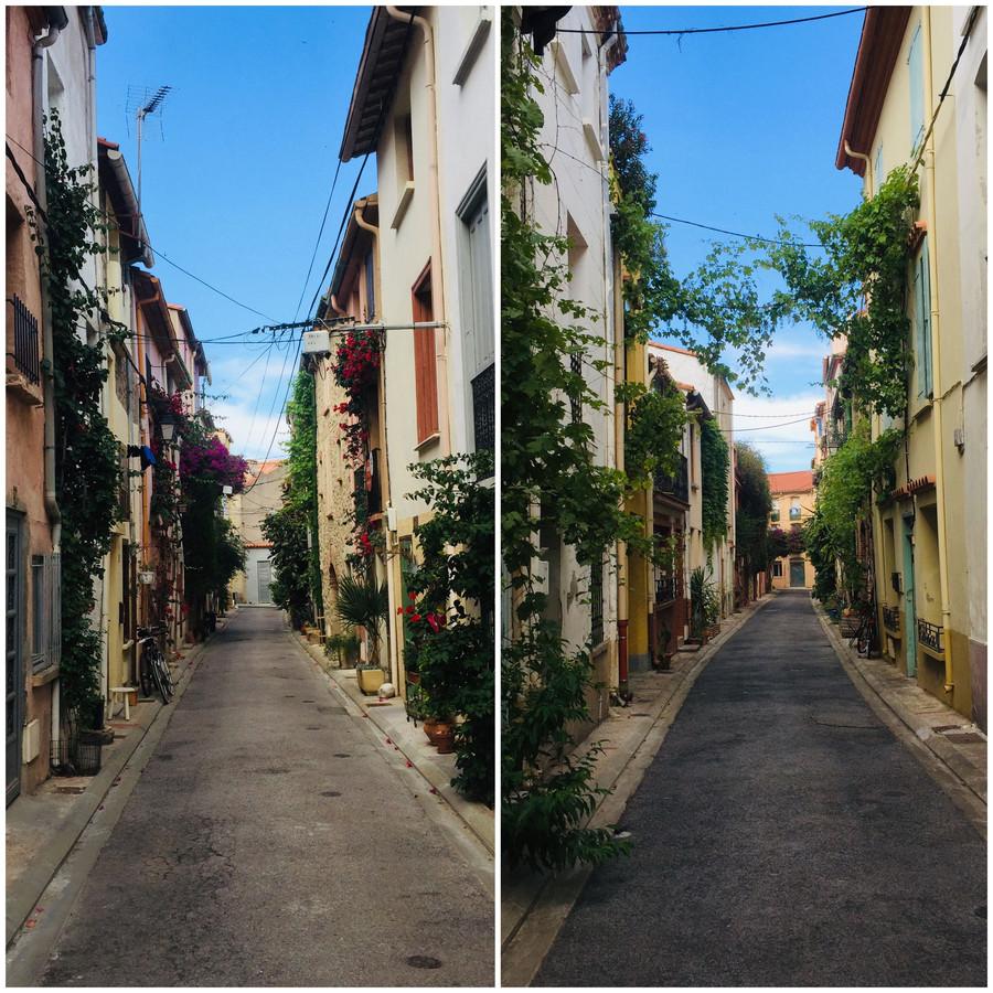 L'ombre des ruelles d'Argelès-sur-Mer