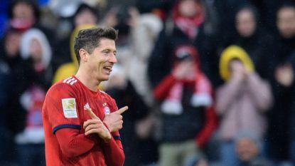 Lewandowski best scorende buitenlander ooit in Bundesliga