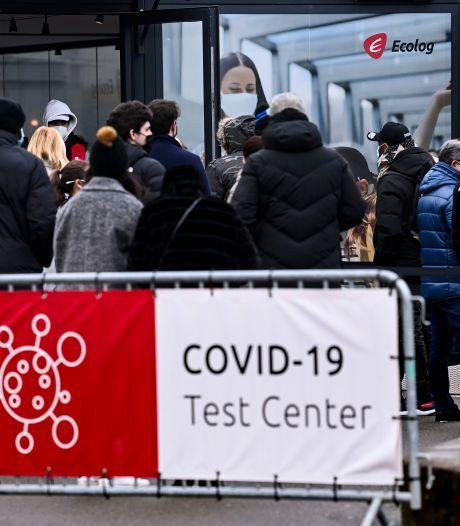 Ruée sur les tests PCR gratuits: 160.000 demandes en deux jours