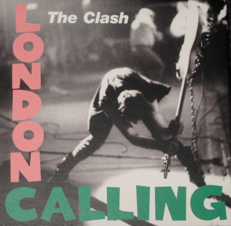Cover van London Calling. Beeld RV