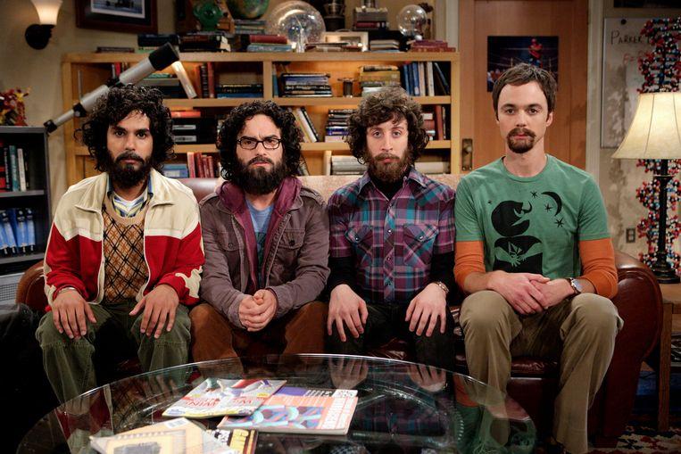 'The Big Bang Theory'.   Beeld VTM