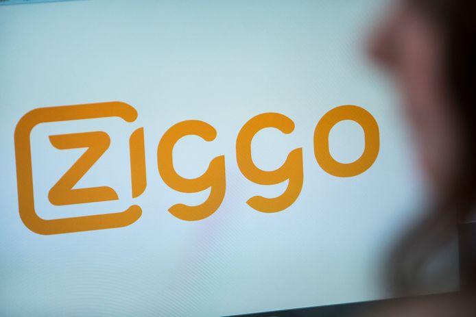 Het logo van aanbieder Ziggo aan wie de Sliedrechter ruim 1900 euro moet betalen.