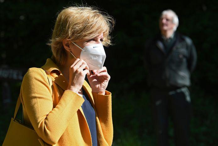 La Ministre wallonne de l'Environnement, Céline Tellier (Écolo)