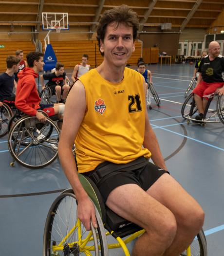 Ruud Groeneveld: Ik voel me thuis tussen de rolstoelbasketballers
