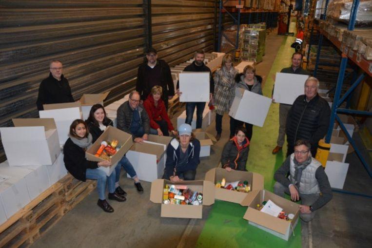 De leden van Rotary Club Meise-Bouchout steken elk jaar de handen uit de mouwen (archieffoto).