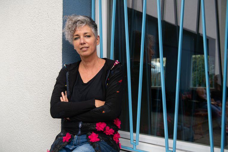 Kriszta Bodis, de filmmaakster die besloot in Ózd te blijven. Beeld Photo: Dénes Erdős