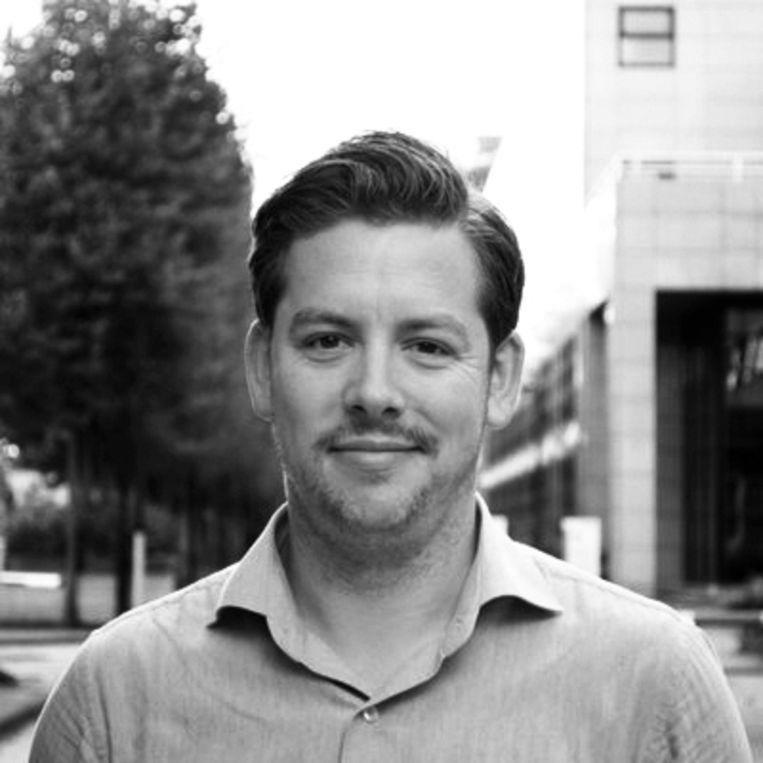 Tom Leenders, duoraadslid PvdA Amsterdam. Beeld