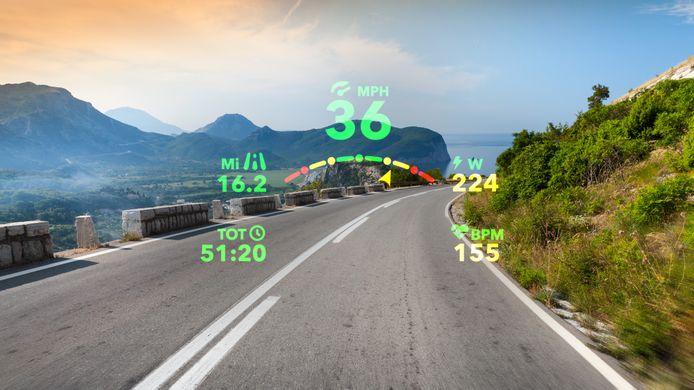 Ook voor sporters zijn er slimme brillen te koop. De Everysight is voor fietsers, met informatie over je snelheid en hartslag altijd in beeld.