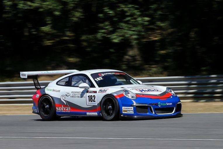 """De Porsche van DVB Racing met Kris en Koen Wauters: """"We deden een goede zaak in Zolder."""""""