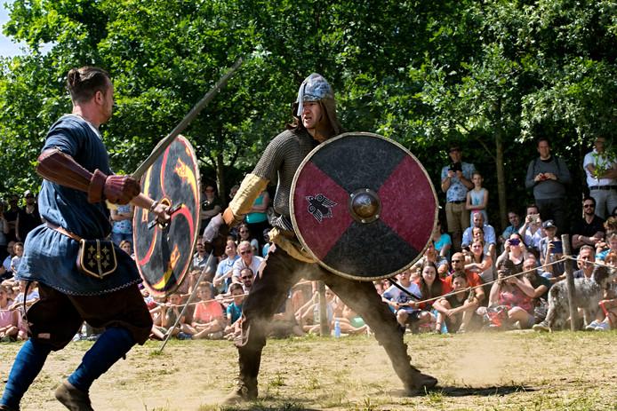 Het vikingfestival in het preHistorisch Dorp was vorig jaar goed voor 3000 bezoekers.