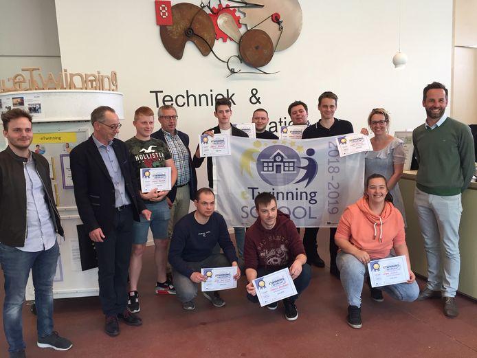 Het Atlascollege in Genk ontvangt het zogenaamde eTwinning Label, een Europese erkenning voor samenwerking tussen scholen uit verschillende Europese landen.