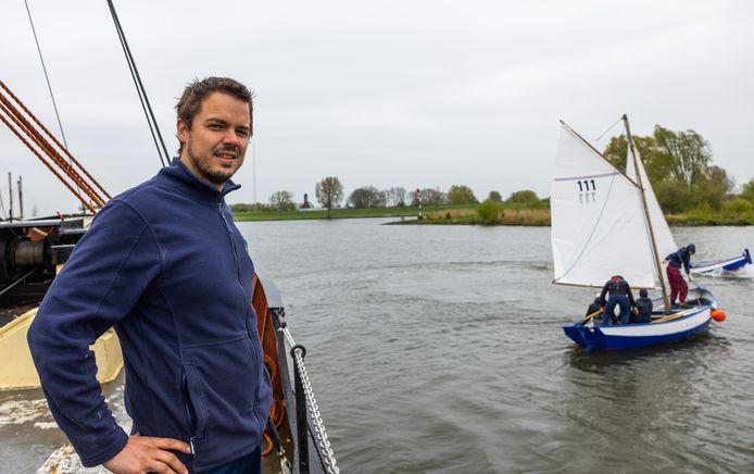 Commandant van de Zeekadetten Sven Oosterbaan.