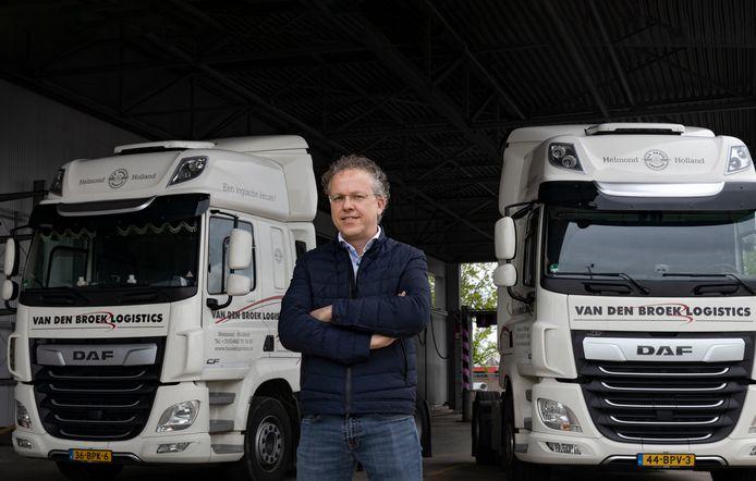 Karel van Rooij, directeur bij transportbedrijf Van den Broek Logistics