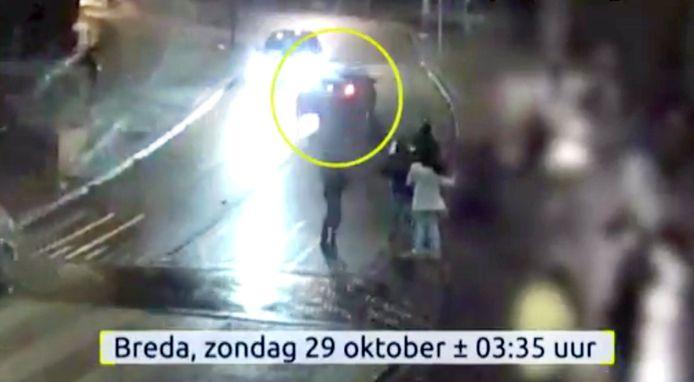 'Heftige beelden'  van aanrijding 34-jarige Bredanaar op Prinsenkade Breda