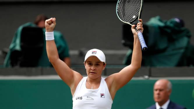 Ashleigh Barty première finaliste à Wimbledon