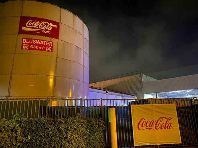 De brand bij Coca Cola was snel onder controle, maar er was wel ernstige rookontwikkeling.
