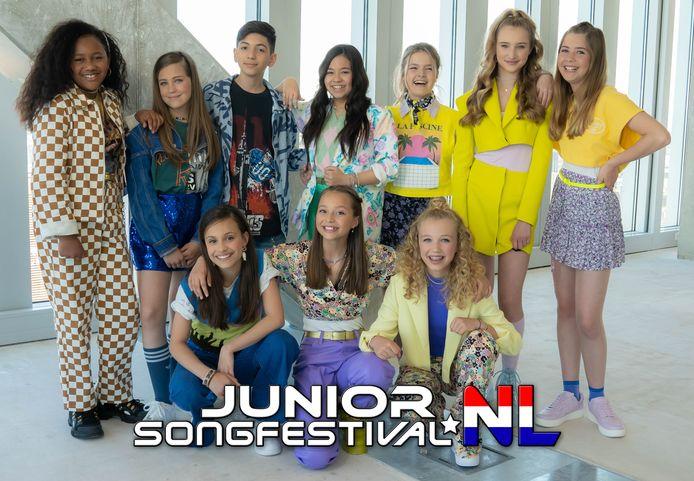 Junior Songfestival Nationale Finale 2021.