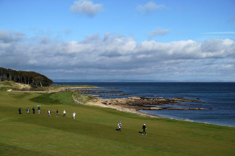 De Kingsbarns golfbaan  Beeld Getty Images