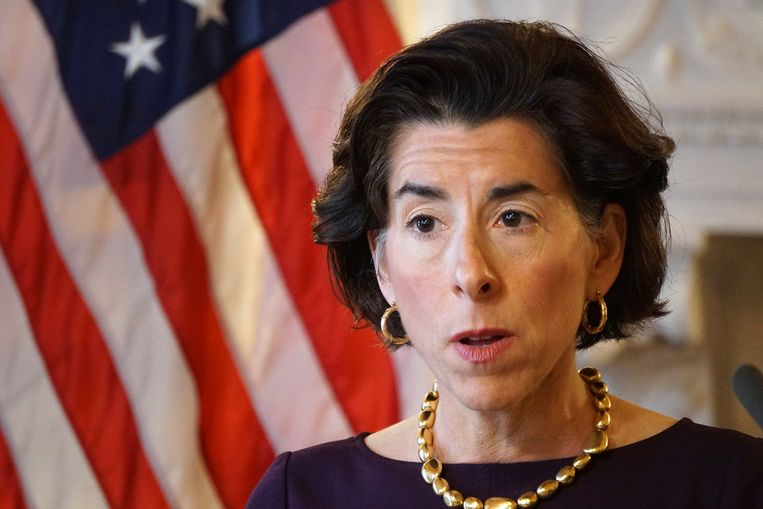 Gouverneur Gina Raimondo van Rhode Island. Beeld AP