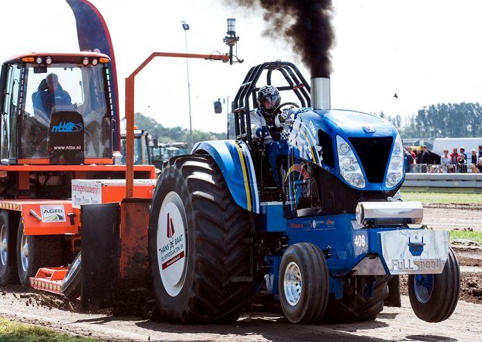 Tractorpulling kan 14 augustus nog wel in Montfoort.